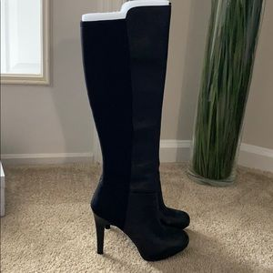 Black Jessica Simpson high boots size 8.5